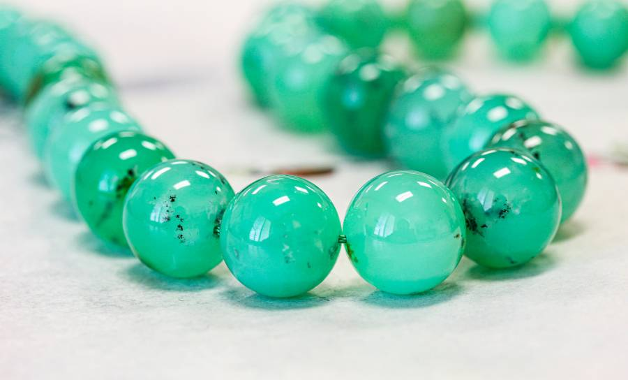 157-1503 Chrysoprase 17mm Round