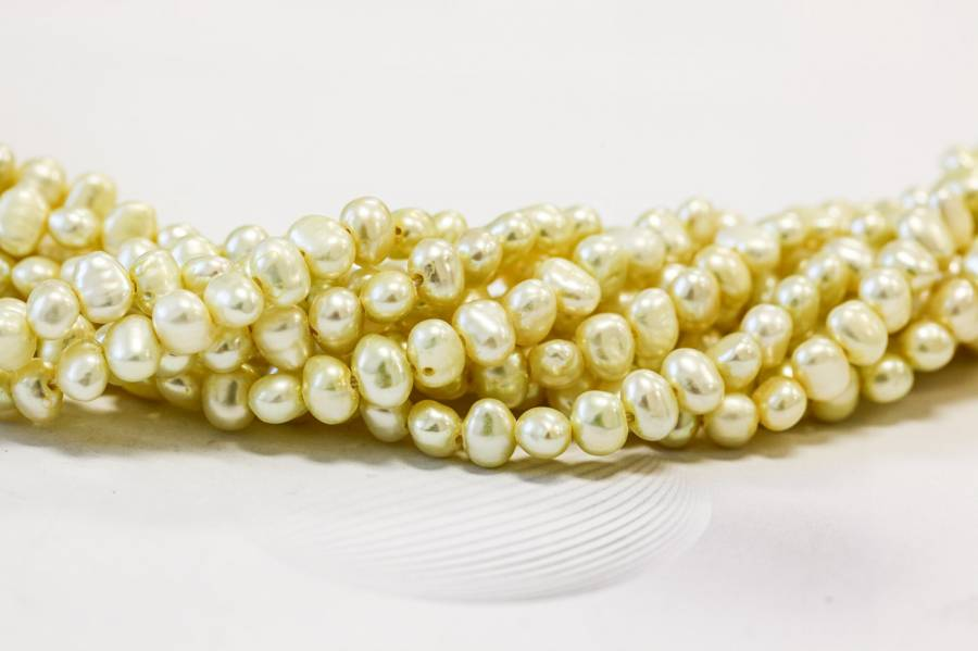 038-1048 Freshwater Pearl SD 5-6mm Side-drilled