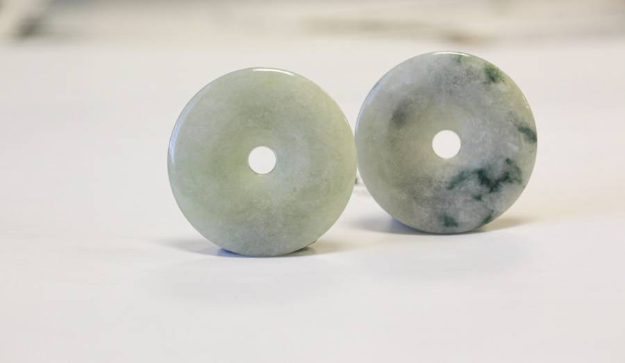 151-1063 Burma Jade 40-43mm Donut Pie