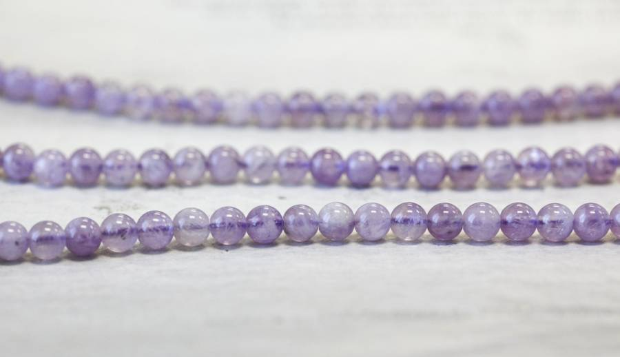 154-1285 Cape Amethyst 6mm Round