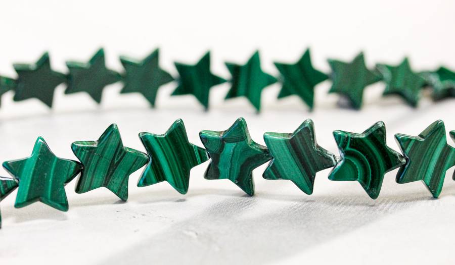 178-1236 Malachite 14mm Star