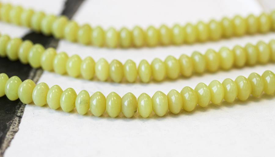 264-1262 Olive Jade 8mm Rondell